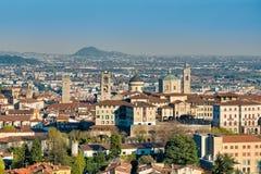 Bergamo alta Immagine Stock