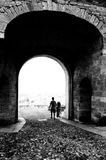 Bergamo Alta Fotografie Stock