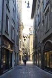 Bergamo Alta - BG Italia Fotografia Stock Libera da Diritti