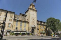 Bergamo-alte Stadt Stockbild