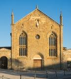 Bergamo - alte Stadt Das alte Kloster von Universität Heilig-Agostino heute von Bergamo stockfotografie