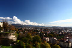 Bergamo in autumn Stock Photography