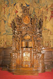 Bergamo - Baroque confession box from cathedral Royalty Free Stock Photo