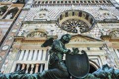 Bergamo, Cappella Colleoni royalty-vrije stock afbeelding