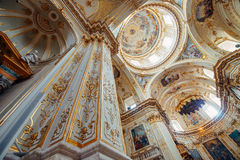 Bergamo Cathedral interior Royalty Free Stock Photography