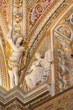 Bergamo - Ceiling of side nave from cathedral Santa Maria Maggiore Royalty Free Stock Photo