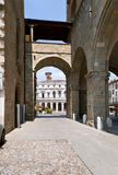 Bergamo center, Italy Stock Photography