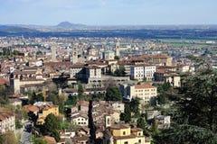 Bergamo, Citta Alta, Lombardia, Italia Fotografia Stock Libera da Diritti
