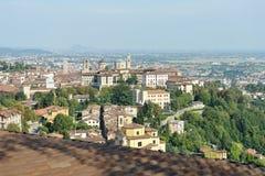 Bergamo, Citta Alta, Lombardia, Italia, Europa immagini stock libere da diritti