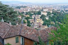 Bergamo, Citta Alta, Lombardy, Italy Stock Photo