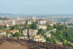 Bergamo, Citta Alta, Lombardy, Italy, Europe Royalty Free Stock Images