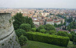 Bergamo city Royalty Free Stock Photography