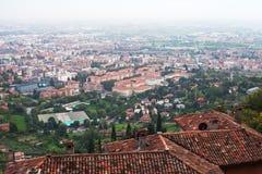 Bergamo city, Italy. Stock Photo