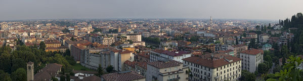 Bergamo city Royalty Free Stock Photo