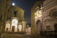 Bergamo - Colleoni chapel and cathedral Royalty Free Stock Photos