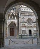 Bergamo - Colleoni chapel by cathedral Santa Maria Maggiore Stock Photo