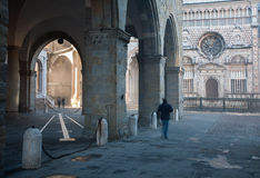 Bergamo - Colleoni chapel by cathedral Santa Maria Maggiore in upper town Royalty Free Stock Photos