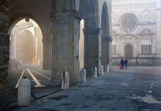 Bergamo - Colleoni chapel by cathedral Santa Maria Maggiore in upper town Royalty Free Stock Photo