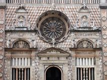 Bergamo Duomo Facade Royalty Free Stock Photos