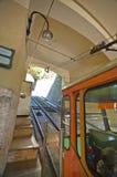 Bergamo Funicular. The funicular to Citta Alta in Bergamo Stock Photography