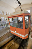 Bergamo Funicular. Funicular to the Citta Alta. Bergamo Royalty Free Stock Photography