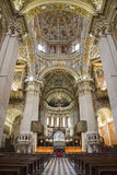 Bergamo - Hauptnave der Kathedrale Santa Maria Maggiore lizenzfreie stockfotos