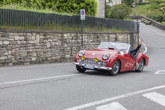 Bergamo Historic Gran Prix Royalty Free Stock Images