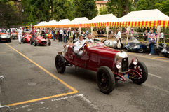 Bergamo Historic Grand Prix 2014 Royalty Free Stock Photo