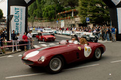 Bergamo Historic Grand Prix 2015 Royalty Free Stock Image