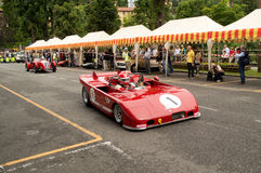 Bergamo Historic Grand Prix 2014 Stock Image