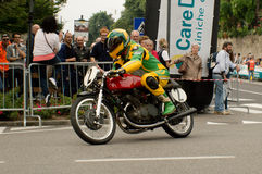 Bergamo Historic Grand Prix 2015 Royalty Free Stock Photos