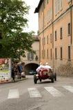 Bergamo historischer Grandprix 2014 Stockfotografie
