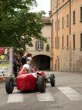Bergamo historischer Grandprix 2014 Lizenzfreies Stockfoto