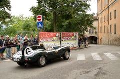 Bergamo Historyczny Uroczysty Prix 2014 Fotografia Royalty Free