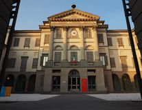 BERGAMO, IL 24 GENNAIO 2018: Il accademia Carrara è una galleria di arte e un'accademia delle belle arti a Bergamo La Lombardia,  Immagine Stock Libera da Diritti