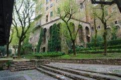 BERGAMO ITAL Arkivfoton