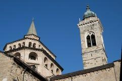 Bergamo, Italië stock afbeelding