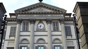 Bergamo, Italia: 29 luglio 2019: Accademia Carrara stock footage