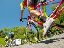 Bergamo Italia 21 2017 Maj: 100 jeździć na rowerze wycieczka turysyczna Italy Zdjęcie Stock