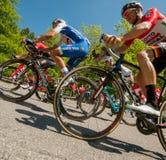 Bergamo Italia 21 2017 Maj: 100 jeździć na rowerze wycieczka turysyczna Italy Obraz Stock