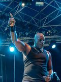 Sepultura at Metal for Emergency 2018 stock photography