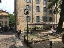The ancient washhouse in Bergamo.Italy Royalty Free Stock Photo