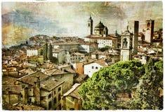 Bergamo, italy Royalty Free Stock Photo
