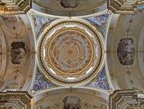 Bergamo - Kuppel von Dom stockbild