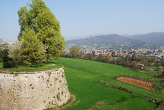 Bergamo landscape Royalty Free Stock Photography