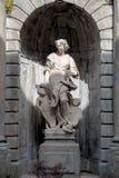 BERGAMO, LOMBARDY/ITALY - CZERWIEC 26: Statua w Bergamo na Czerwu 26 Fotografia Stock