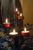 BERGAMO, LOMBARDY/ITALY - 26 GIUGNO: Candele nella cattedrale di Immagine Stock Libera da Diritti