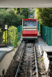 BERGAMO, LOMBARDY/ITALY - JUNE 25 : Funicular Railway in Citta A Royalty Free Stock Photo