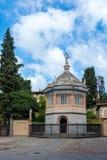 BERGAMO, LOMBARDY/ITALY - 25 JUNI: Baptistery van Santa Maria Ma Royalty-vrije Stock Foto's