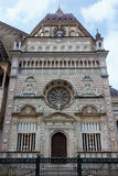BERGAMO, LOMBARDY/ITALY - 25 JUNI: Basiliekdi Santa Maria Magg Stock Afbeelding